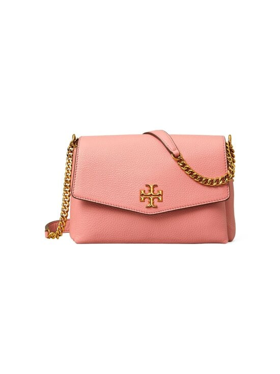 Tory Burch - Kira Pebbled Small Convertible Shoulder Bag -nahkalaukku - 651 PINK MAGNOLIA | Stockmann - photo 1
