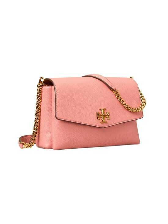 Tory Burch - Kira Pebbled Small Convertible Shoulder Bag -nahkalaukku - 651 PINK MAGNOLIA | Stockmann - photo 3