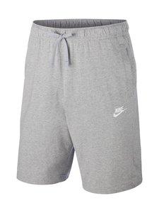 Nike - Sportswear Club Fleece -collegeshortsit - 063 DK GREY HEATHER/WHITE | Stockmann