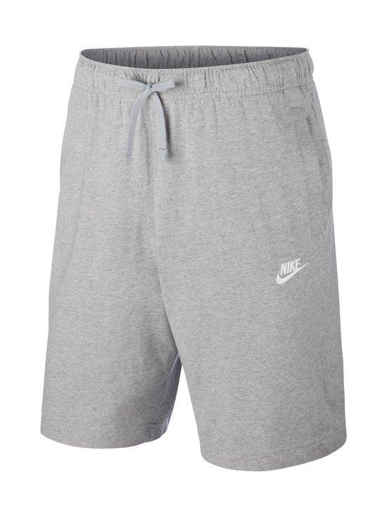 Nike - Sportswear Club Fleece -collegeshortsit - 063 DK GREY HEATHER/WHITE | Stockmann - photo 1
