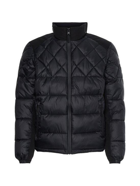 Calvin Klein Menswear - MIX MEDIA QUILT JACKET -toppatakki - BEH CK BLACK | Stockmann - photo 1