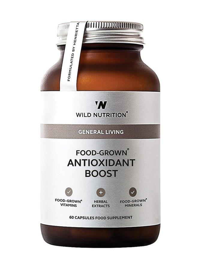 Food-Grown Antioxidant Boost -ravintolisä 60 kaps.