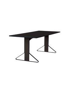 Artek - REB011 Kaari -pöytä, HPL - BLACK GLOSSY/BLACK OAK (MUSTA) | Stockmann