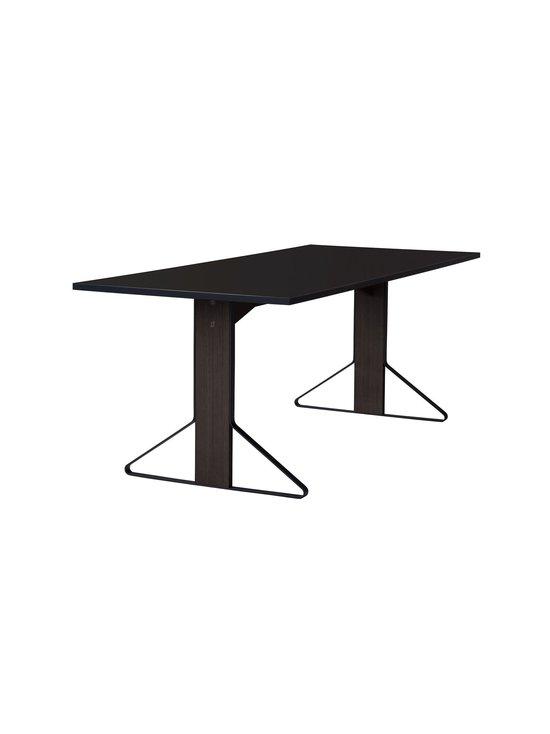Artek - REB011 Kaari -pöytä, HPL - BLACK GLOSSY/BLACK OAK (MUSTA) | Stockmann - photo 1