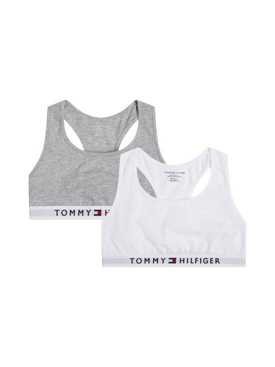 Tommy Hilfiger - Bralette-toppi 2-pack - 0UD MID GREY HEATHER/WHITE | Stockmann - photo 1