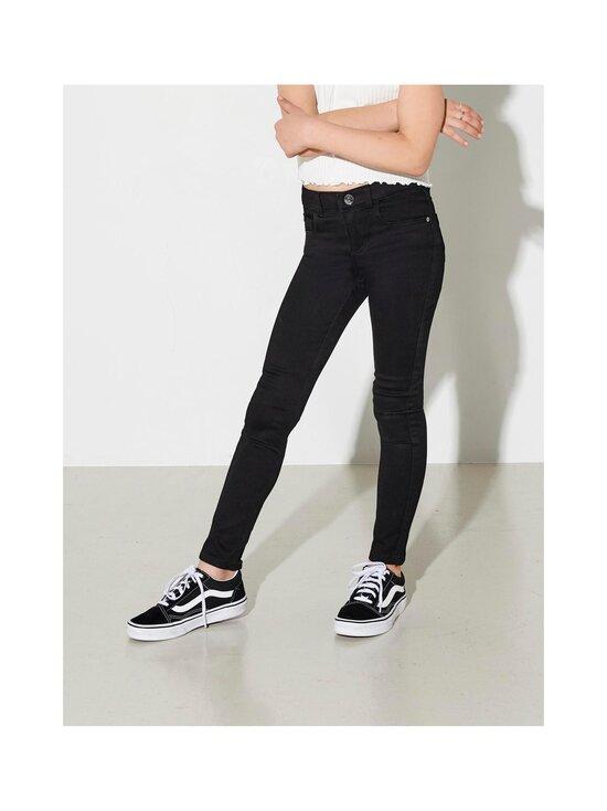 KIDS ONLY - Konroyal Life Reg Skinny Jeans -farkut - BLACK | Stockmann - photo 4