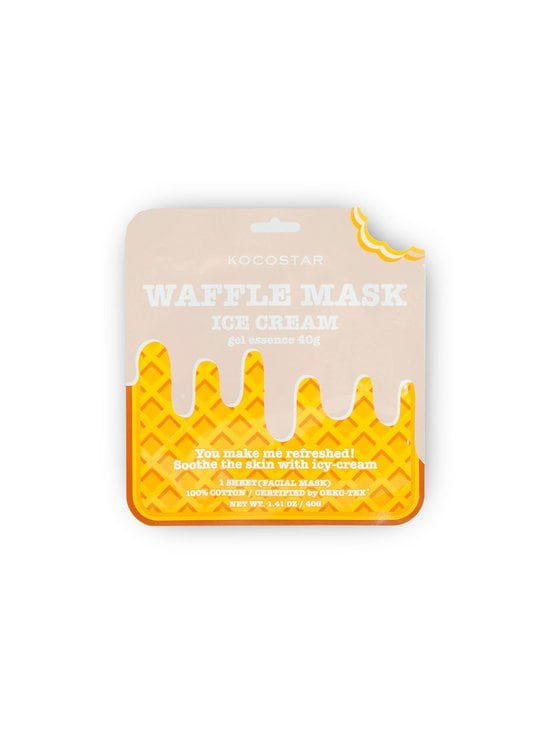 KOCOSTAR - Waffle Mask Icecream -kangasnaamio - NOCOL | Stockmann - photo 1