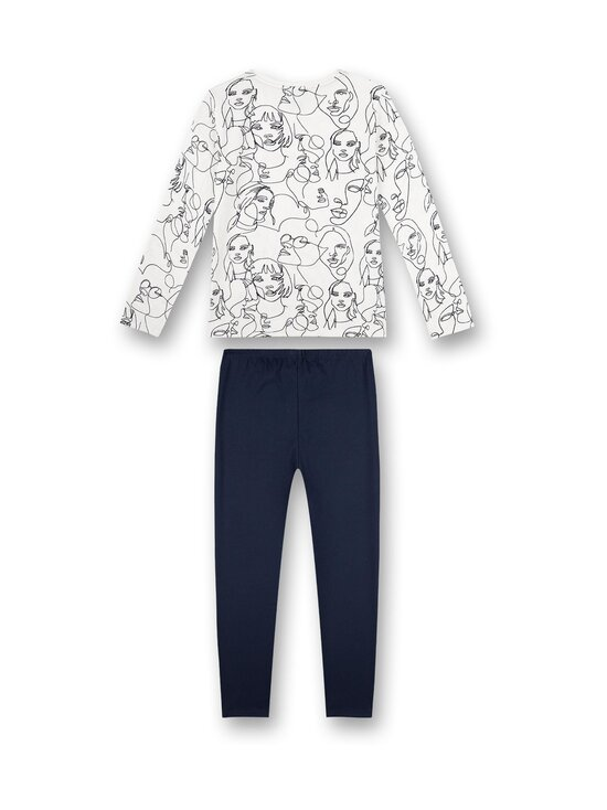 Sanetta - Glasses and Stripes -pyjama - 5962 NORDIC BLUE | Stockmann - photo 2