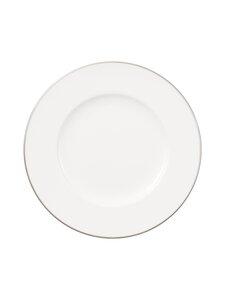 Villeroy & Boch - Anmut Platinum No.1 -lautanen 16 cm - WHITE   Stockmann