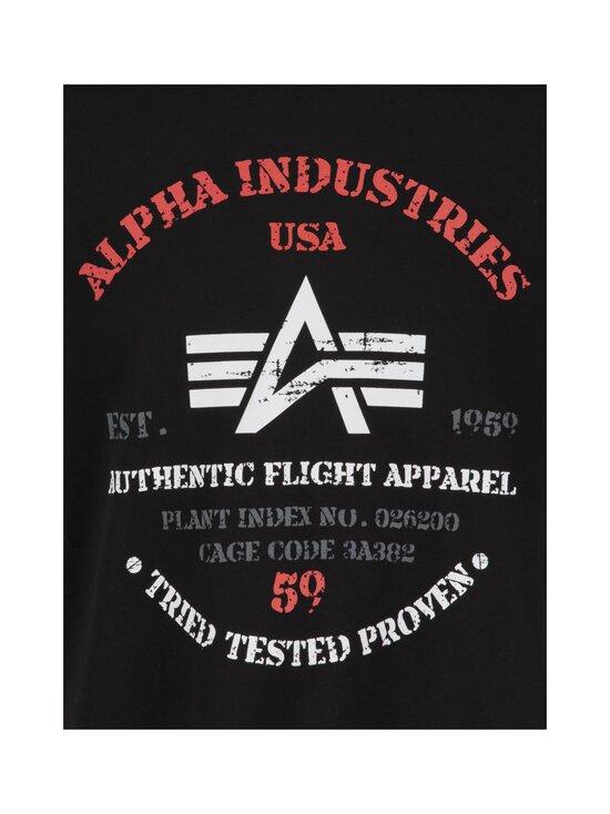 Alpha Industries - Authentic Print T -paita - 03 BLACK | Stockmann - photo 3