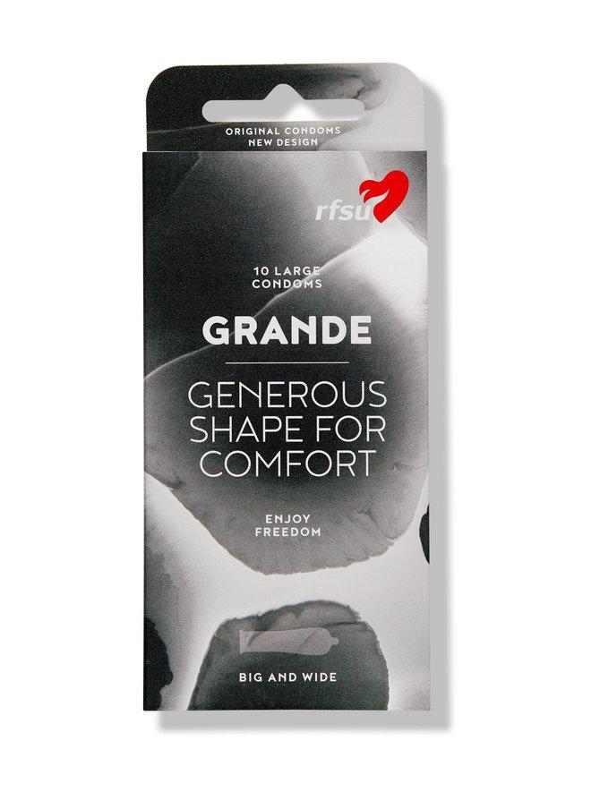 Grande-kondomi 10 kpl