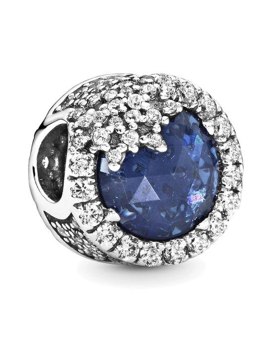 Pandora - Snowflake Silver Charm -koru - BLUE   Stockmann - photo 1