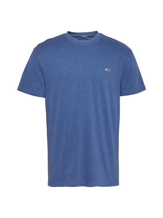 Tommy Jeans - Tjm Sunfaded Wash Tee -paita - CZY AUDACIOUS BLUE | Stockmann - photo 1