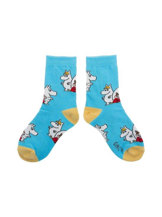 Muumi - Socks Kids -sukat - LIGHT BLUE / YELLOW   Stockmann - photo 1
