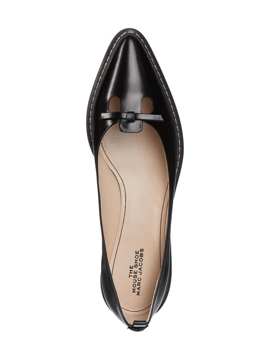 Marc Jacobs - The Mouse Shoe Ballerina -nahkakengät - 001 BLACK | Stockmann - photo 2