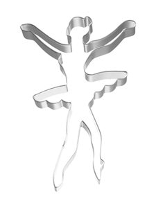 Birkmann - Ballerina-piparkakkumuotti 11 cm - TERÄS | Stockmann