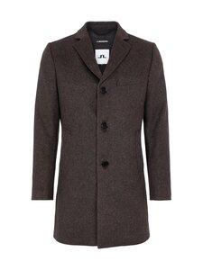 J.Lindeberg - Wolger Checked Wool Coat -takki - E105 TRUE GRIT | Stockmann
