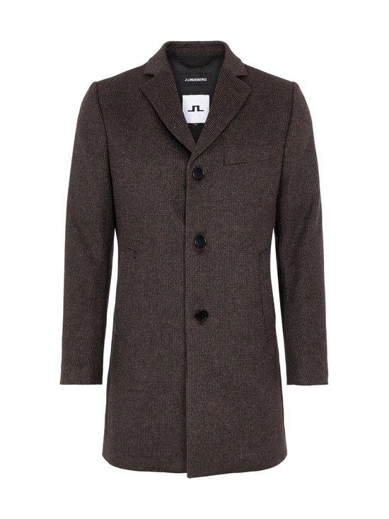 J.Lindeberg - Wolger Checked Wool Coat -takki - E105 TRUE GRIT | Stockmann - photo 1