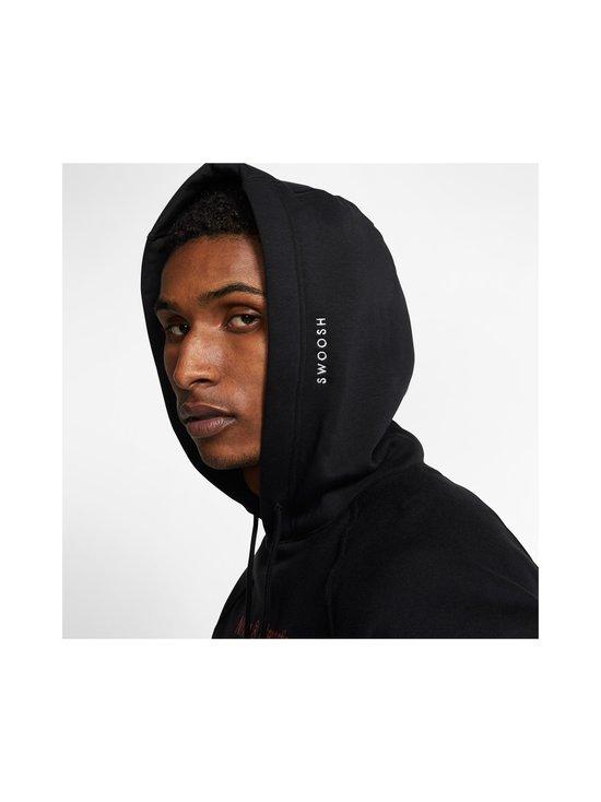Nike - Swoosh Hoodie -huppari - 010 BLACK/WHITE | Stockmann - photo 5