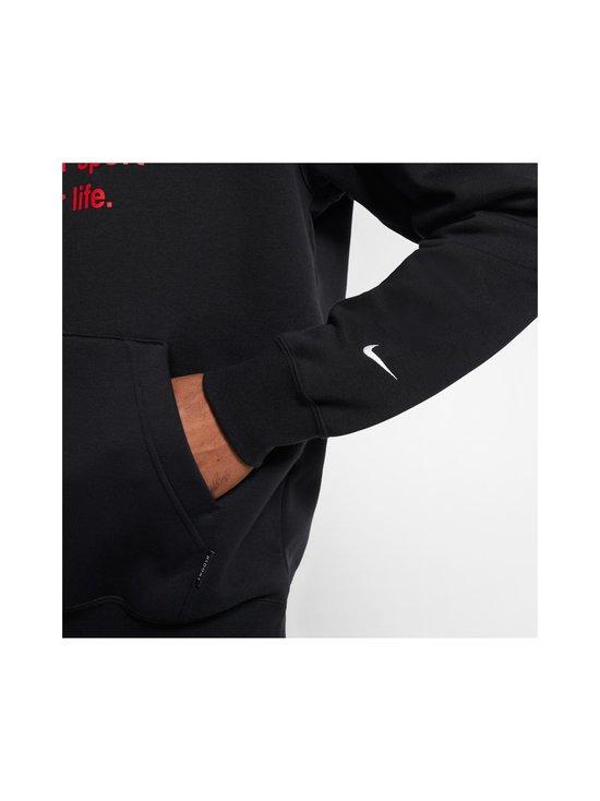 Nike - Swoosh Hoodie -huppari - 010 BLACK/WHITE | Stockmann - photo 8