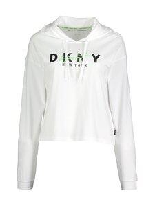 DKNY Sport - Graphic Script Logo -huppari - WHT WHITE | Stockmann