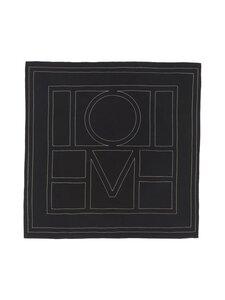 Totême - Silkkihuivi - BLACK MONOGRAM 925   Stockmann