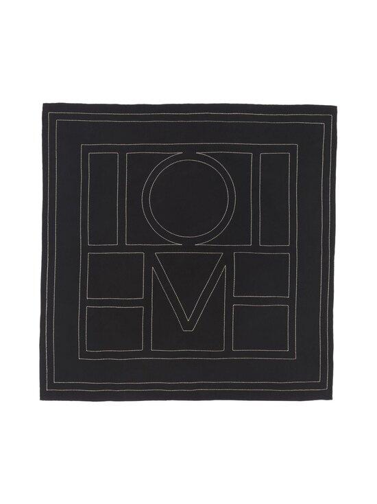 Totême - Silkkihuivi - BLACK MONOGRAM 925 | Stockmann - photo 1