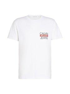 Calvin Klein Jeans - Colorblock Pocket Tee -paita - BRIGHT WHITE | Stockmann