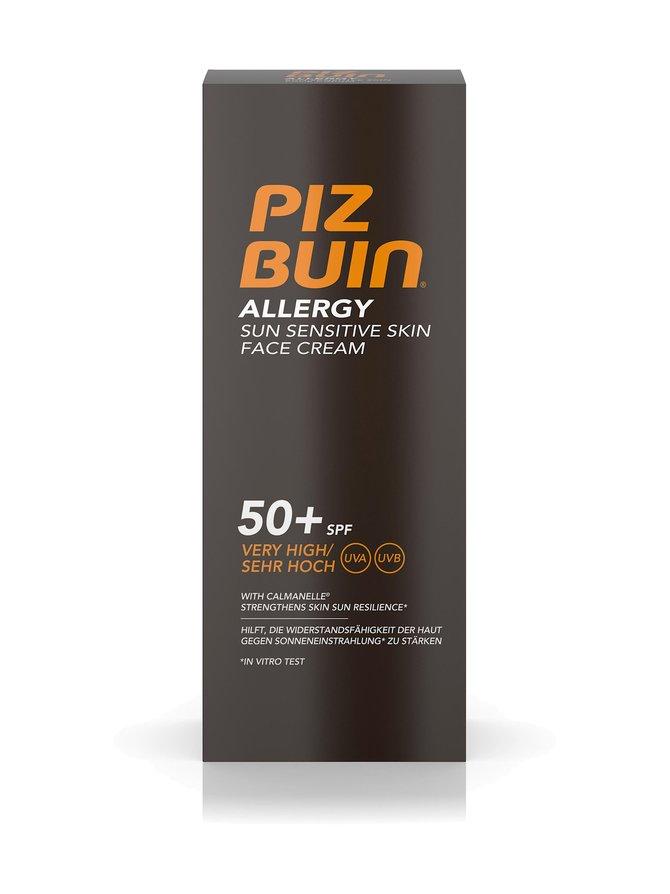 Allergy Face Cream Spf 50+ Sunscreen -aurinkosuojavoide kasvoille 50 ml