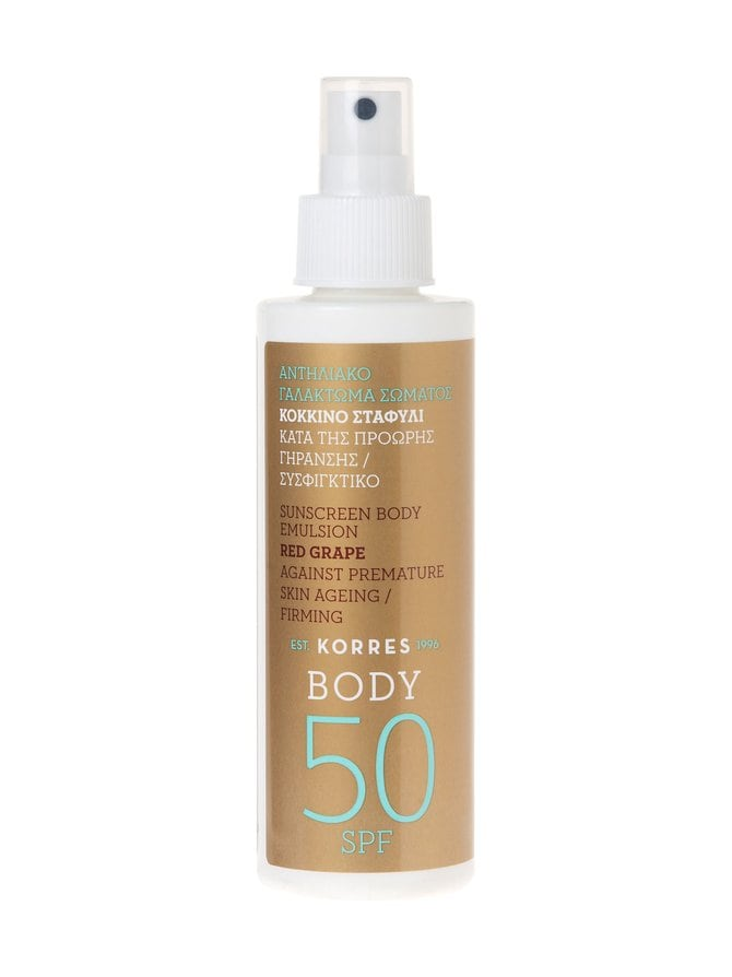 Red Grape Body Spray Emulsion SPF50 -aurinkosuoja 150 ml