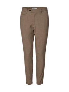 Les Deux - Como Melange Suit Pants -housut - 810810-DARK SAND | Stockmann