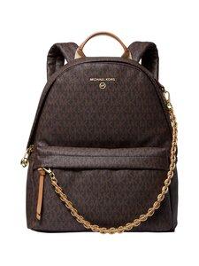 Michael Michael Kors - Rhea Zip Backpack Medium -reppu - 252 BRN/ACORN   Stockmann