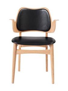 Warm Nordic - Gesture Dining -tuoli - BLACK PRESCOTT LEATHER | Stockmann