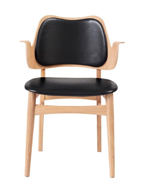 Warm Nordic - Gesture Dining -tuoli - BLACK PRESCOTT LEATHER | Stockmann - photo 1