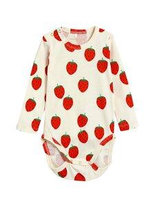 Mini Rodini - Strawberry-body - OFFWHITE | Stockmann