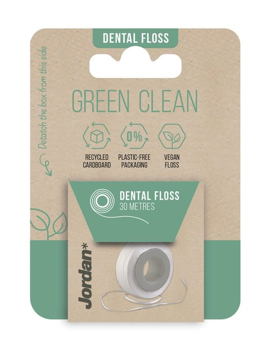 Jordan - Green Clean Dental Floss -hammaslanka 30 m - NOCOL | Stockmann - photo 1