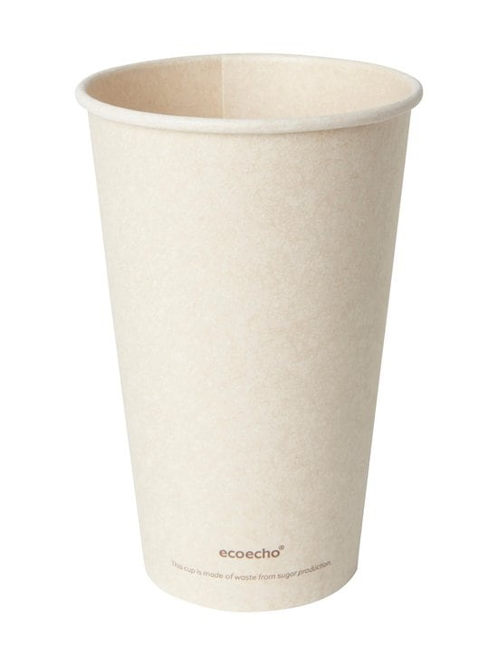 Duni - Bio Sweet Cup -kertakäyttömuki 47 cl, 10 kpl - BROWN | Stockmann - photo 1