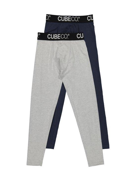 Cube Co - Norten- pitkät alushousut 2-pack - GREY/DARK BLUE | Stockmann - photo 1
