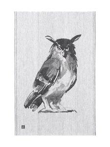 Lapuan Kankurit - Huuhkaja-keittiöpyyhe 46 x 70 cm - MUSTA/VALKOINEN | Stockmann