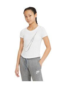 Nike - Swoosh Logo Tee -paita - WHITE | Stockmann