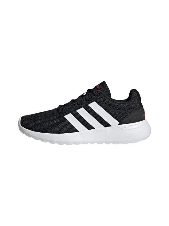 adidas Performance - Lite Racer -sneakerit - CBLACK/FTWWHT/SCARLE | Stockmann - photo 4