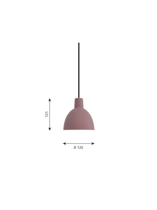 Toldbod-riippuvalaisin Ø 12 cm