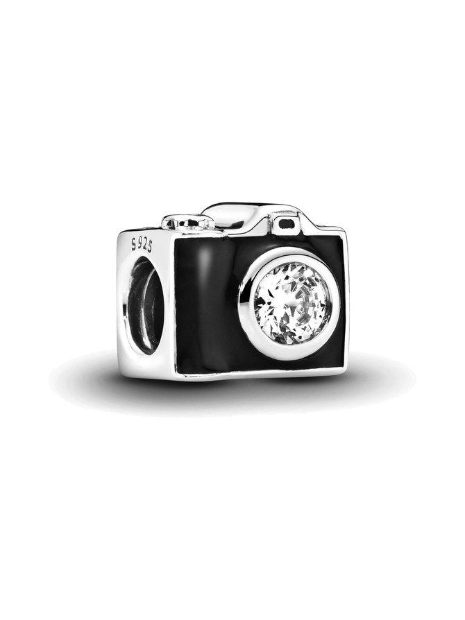 Camera Silver Charm