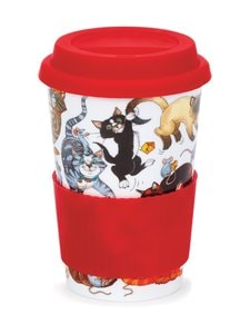 Dunoon - Pussy Galore -matkamuki 440 ml - PUNAINEN | Stockmann