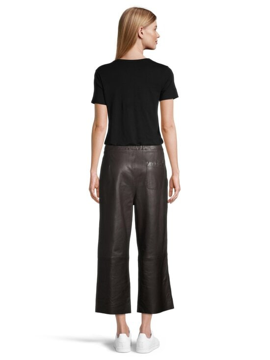 Marc O'Polo - Nahkahousut - 799 BLACK BROWN | Stockmann - photo 3