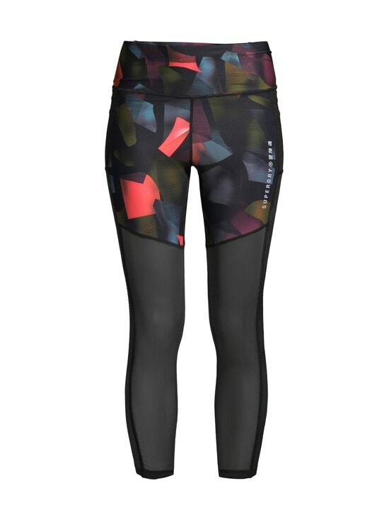 Superdry Sport - Training 7/8 Leggings -treenitrikoot - 3HM CUBISM PRINT | Stockmann - photo 1