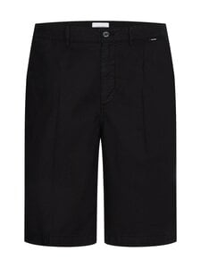 Calvin Klein Menswear - Regular Pleat Cotton Linen -shortsit - BEH CK BLACK   Stockmann