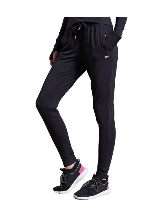 Superdry Sport - Active Studio Luxe Joggers -housut - AZB BLACK MARL | Stockmann - photo 1