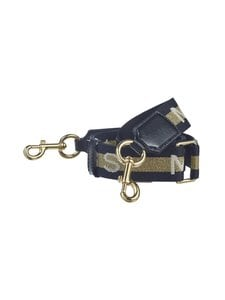 Marc Jacobs - Logo Thin Webbing Strap -olkahihna - GOLD MULTI | Stockmann