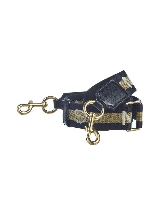 Marc Jacobs - Logo Thin Webbing Strap -olkahihna - GOLD MULTI | Stockmann - photo 1